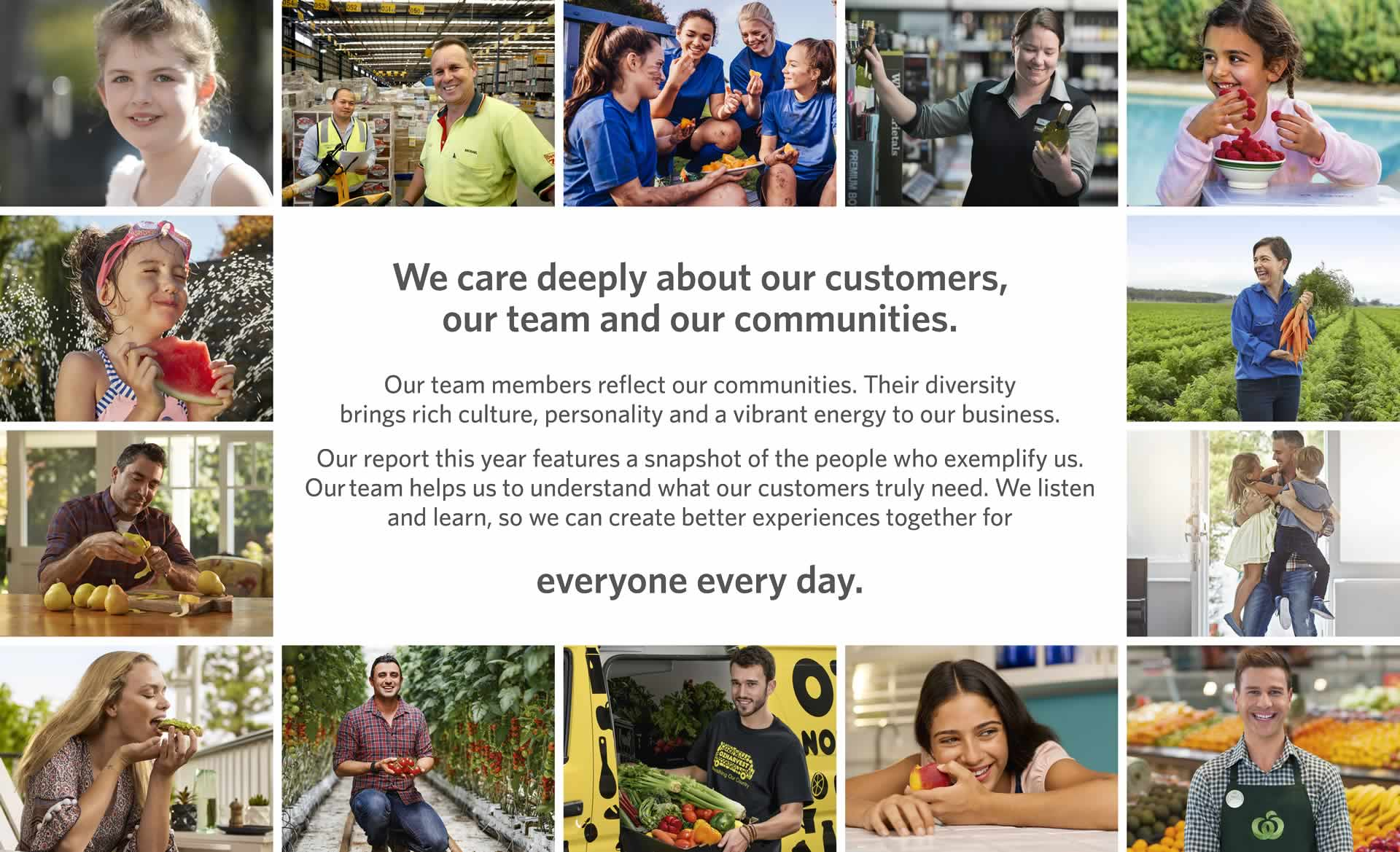 we care deeply about our customers